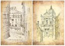 欧洲住宅建筑草图