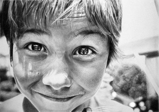 佛朗哥·凯伦的超现实主义人物素描