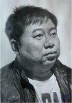 刘斌的素描头像