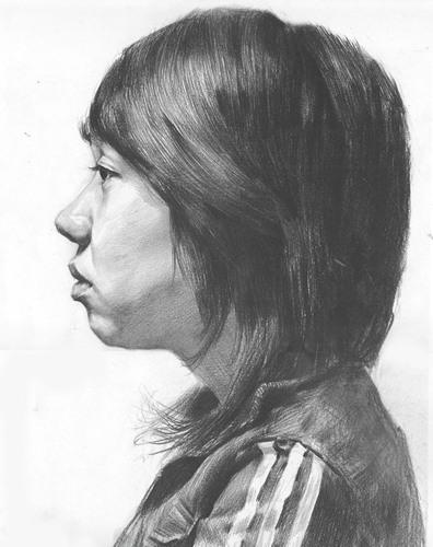 鲁迅美术学院35幅优秀学生素描画像
