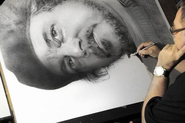 阿明·默斯曼的素描可以超越灵魂的大图景