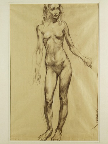 列宾美术学院人体素描原画高清87