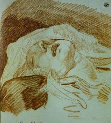 聚焦主结构草图让-巴蒂斯特·格雷兹