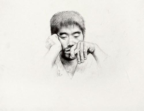 王新东人物素描
