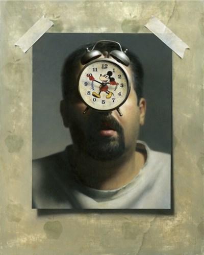美国约书亚·苏达艺术家的超现实主义绘画铅素描