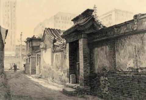 匡汉,风景素描,图19