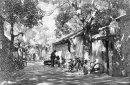 北京老胡同雪景小品