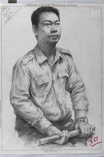 人物素描肖像高分试卷