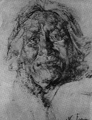 尼古拉·费辛素描58幅画