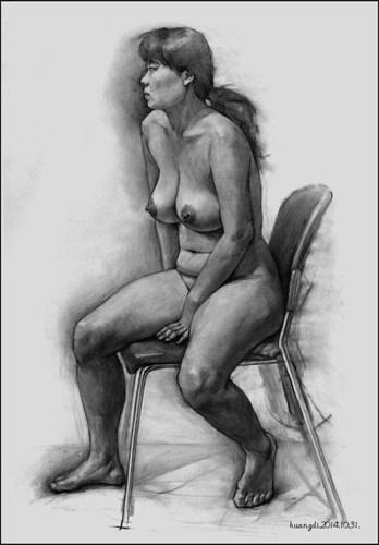 身体素描练习