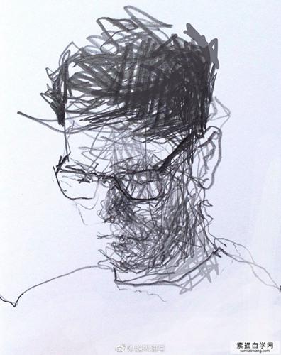 没有扎实的素描技巧,在国外很酷的素描是无法画出来的。