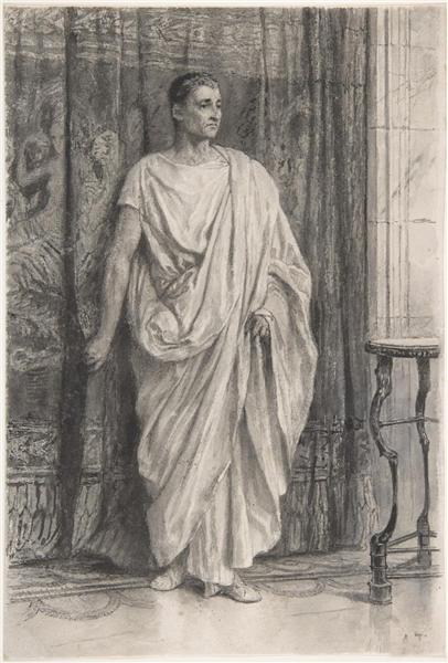 劳伦斯·阿尔玛·塔德马大师高清素描作品赏析
