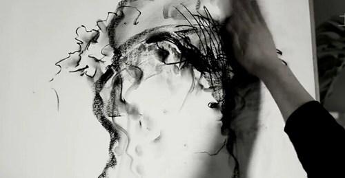 杜建起谈素描艺术展