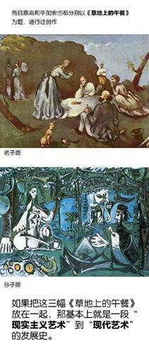 理解大师的名画——谈马奈的《草地上的午餐》