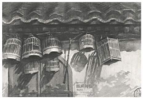 北京水木苑工作室优秀设计素描