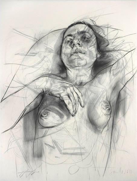素描人体绘画:线条、光影带来的审美素描人体绘画