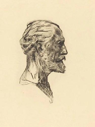 欣赏和学习西方大师的素描头像