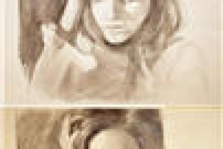 素描头像步骤图片教程 从打形到细节刻画素描入门