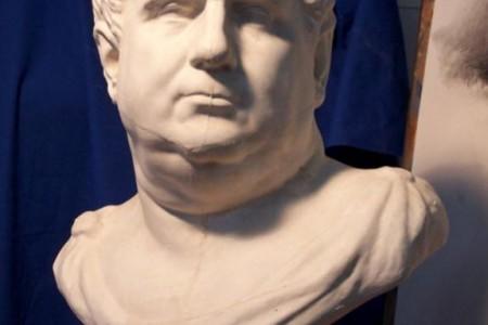 罗马王石膏像素描教程