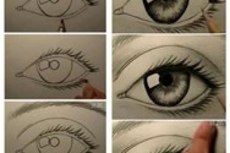动漫眼睛画法