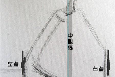 素描打形技巧 素描打型方法 基础教程