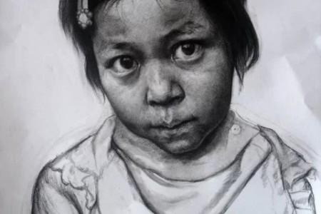 画儿童素描头像注意事项