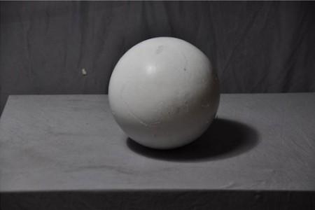 石膏几何体:球体超高清图片