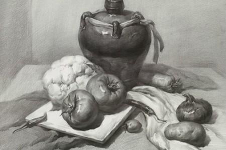 学素描 学画画应该有什么样的思维思路?