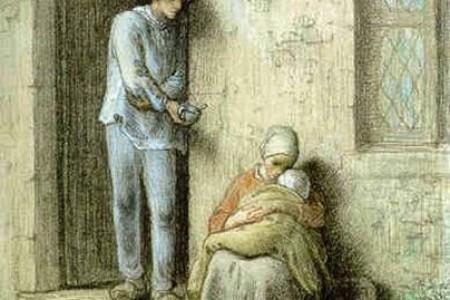 艺术大师让·弗朗索瓦·米勒素描油画作品介绍(三)
