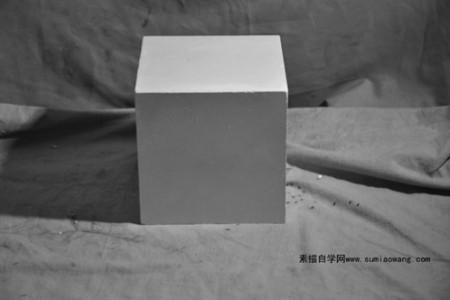 石膏像正方体高清照片下载