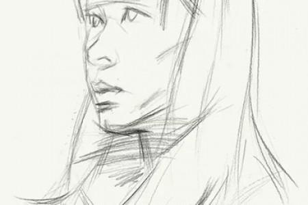 画好素描头像的方法步骤