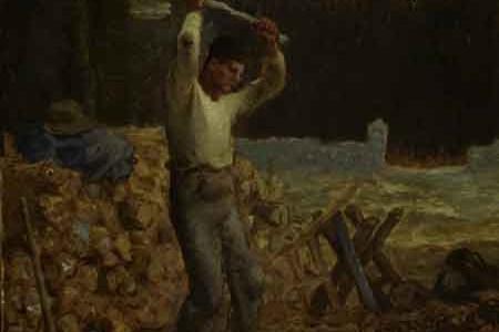 艺术大师让·弗朗索瓦·米勒素描油画作品介绍(五)