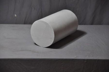 石膏几何体:圆柱体 超高清图片