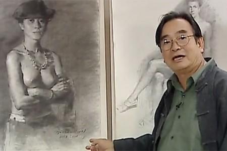 冉茂芹人体素描视频教程(上)女人体素描画教程