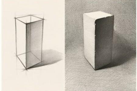 画素描时怎么掌握高和宽的比例关系?