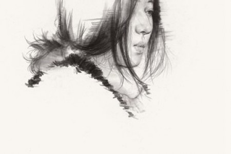 优秀女青年素描头像作业点评 女青年素描头像画法教程
