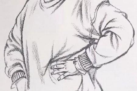 人物上半身的速写衣褶图文讲解
