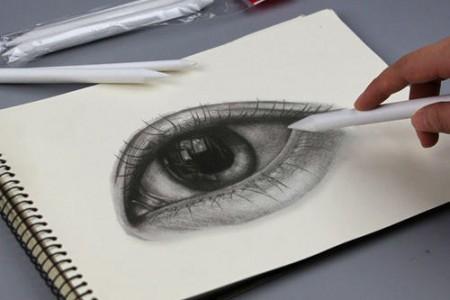 素描纸擦笔/纸笔用黑了还能用吗?使用方法教程
