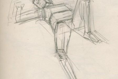 人体素描入门 块面结构练习