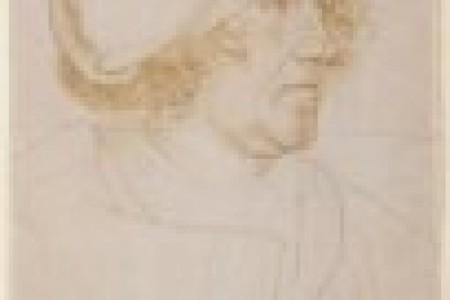 Holbein素描肖像