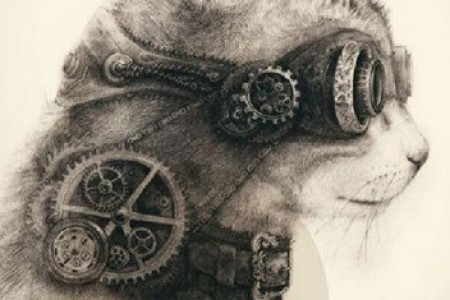 工业和生活相结合的设计草图