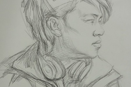 传奇工作室李浩泽素描负责人樊华