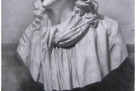 大卫·莫里哀的巴黎石膏素描