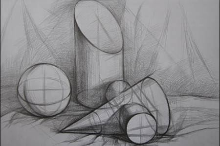 几何结构草图