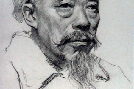 靳尚谊素描23素描人物和风景