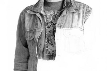 布莱恩·波尔顿的超现实主义铅笔素描作品
