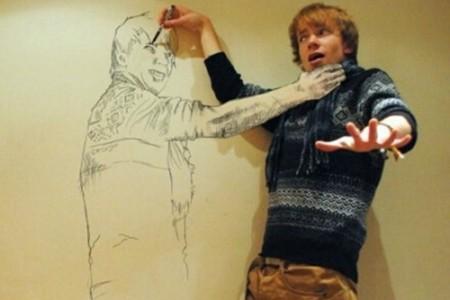 丹·莱斯特的三维素描非常有趣。