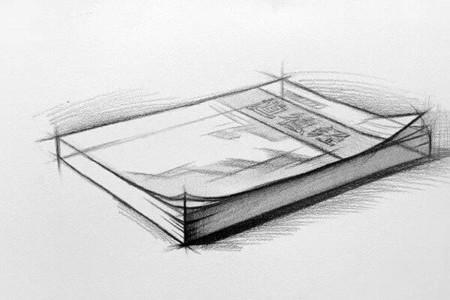书籍的草图和教程