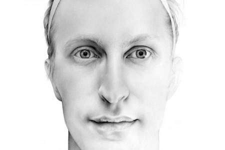英国女艺术家凯斯·莱利的超现实主义铅笔素描