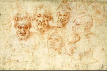 米开朗基罗的素描本